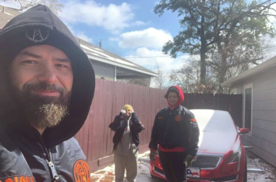 """The """"Iceman"""" Paul Wall naturally would've liked more snow, but many Houston rappers loathed the situations created by the winter storm in Texas. Photo: @paulwallbaby"""