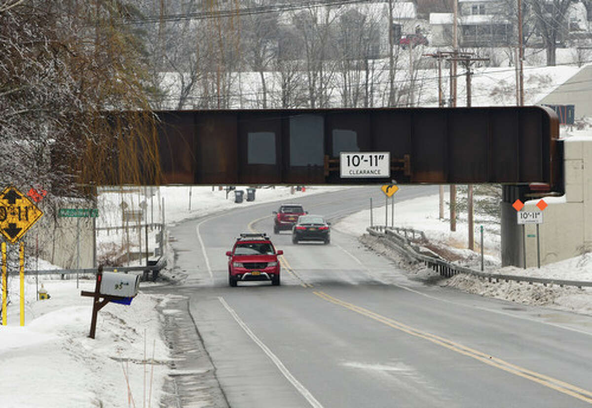 FILE. Letter writer says, 'The remedy going forward is for DOT to lower the underpass road by a suggested 2 feet.' (Lori Van Buren/Times Union)