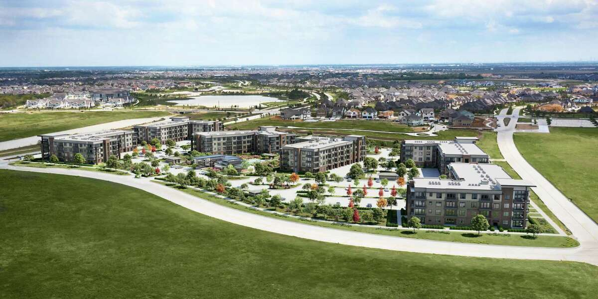 An artist's rendering of the completed Starling at Bridgeland.