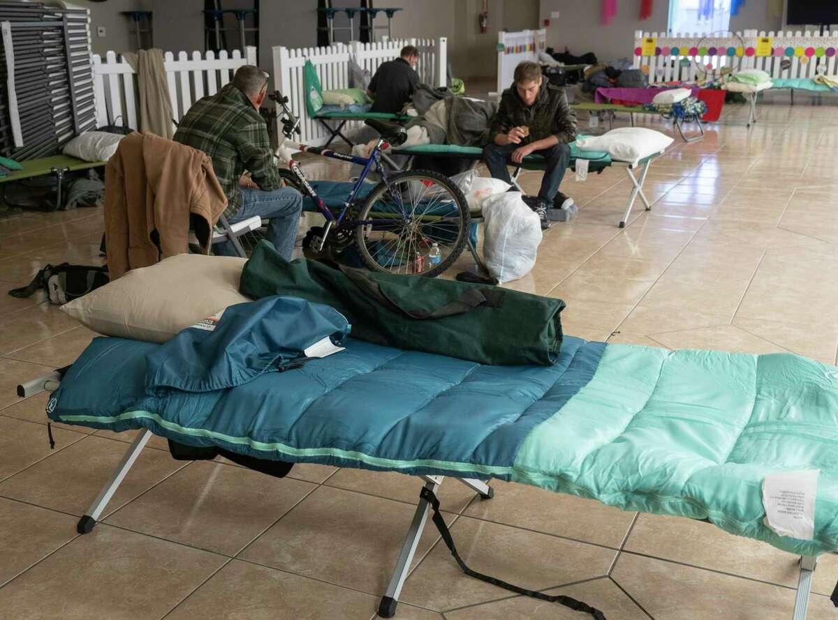 An emergency shelter has been opened 02/16/2021 and will be open through Thursday at True-Lite Christian Fellowship Church. Tim Fischer/Reporter-Telegram