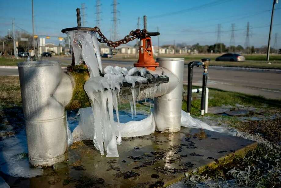 A utility structure is encased in ice on Feb. 15, 2021 in Houston. Gov. Greg Abbott on Tuesday declared the reform of the Electric Reliability Council of Texas an emergency item for the 2021 legislative session. Photo: May-Ying Lam /The Texas Tribune