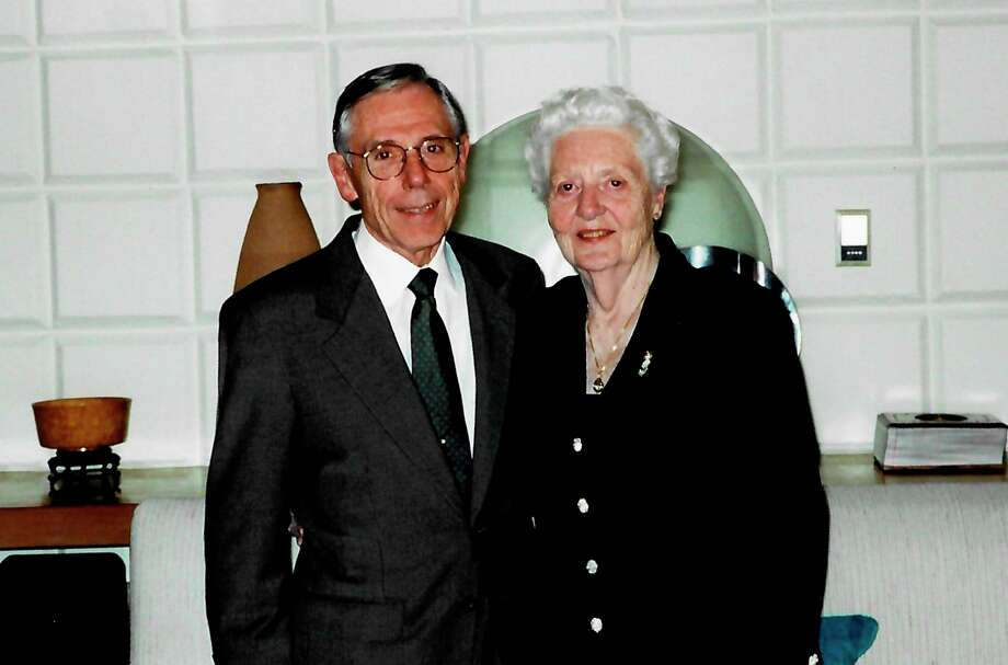 Gene and Millie Yehle at a Strosacker Foundation annual meeting and dinner in 2000. (Photo provided)