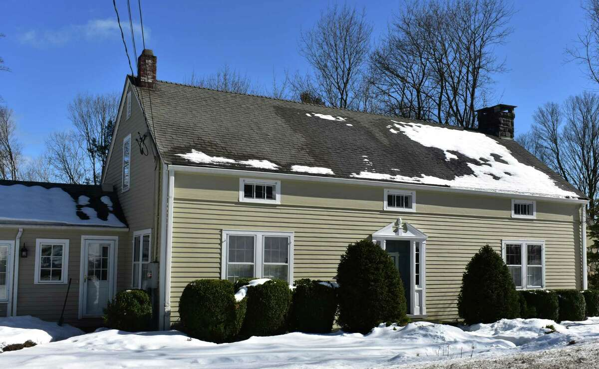 A Hanover Road home listed for sale in Newtown, Conn. in February 2021.