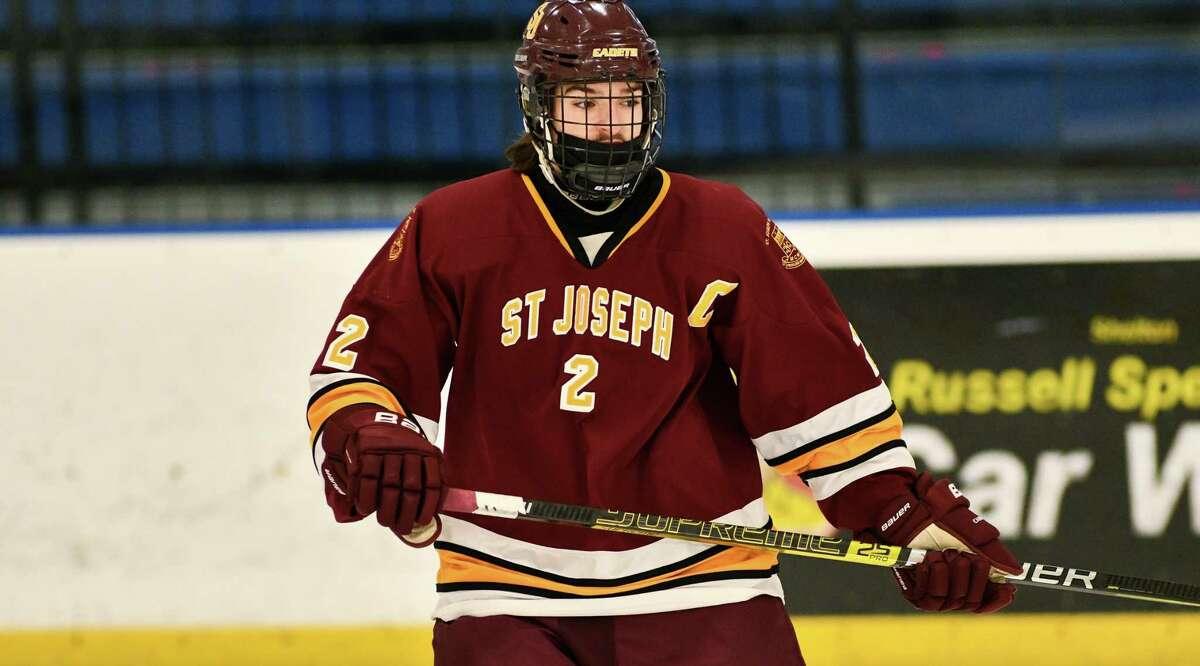 Liam Gelston is one of St. Joseph's top defensemen.