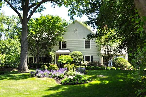 """Renovated colonial at 361 Brookbend Road in """"downtown Greenfield Hill"""" Fairfield."""