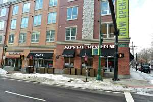 Jack's Bar and Steakhouse on College Street in New Haven Feb. 16, 2021.