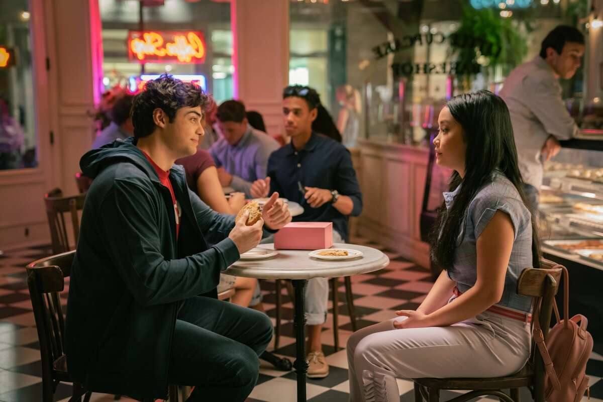 """Noah Centineo as Peter Kavinsky andLana Condor as Lara Jean Covey in """"To All The Boys: Always and Forever."""""""