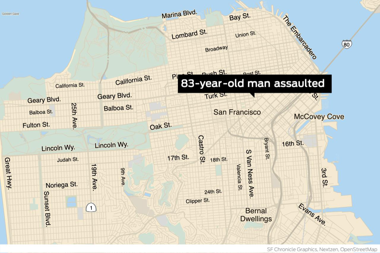 www.sfchronicle.com: S.F. police arrest man suspected of assaulting 83-year-old Asian man