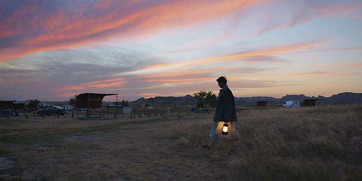 """Following screenings at the Venice, Toronto and New York film festivals, and a special-event presentation from Telluride in Los Angeles, the Frances McDormand-led drama """"Nomadland"""" has garnered significant awards buzz. (Searchlight Pictures/TNS)"""