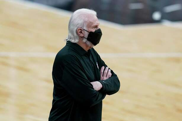 """Spurs coach Gregg Popovich now looks prophetic after saying Sunday that COVID is """"still here, and we are not even close to done with it."""""""