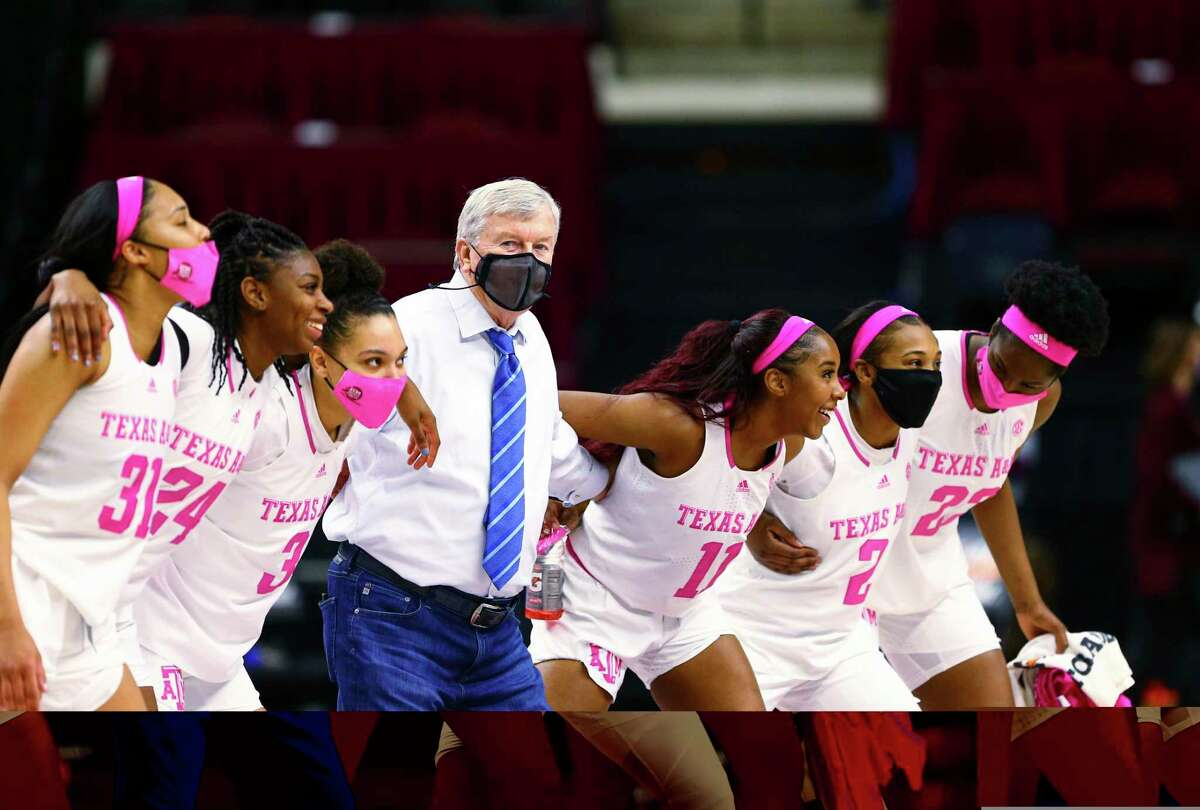 Texas A&M women's basketball coach Gary Blair and his team were able to sway to the Aggie War Hymn following an 80-70 win over Tennessee on Sunday but it was before a mostly empty Reed Arena because of the cold and the pandemic.