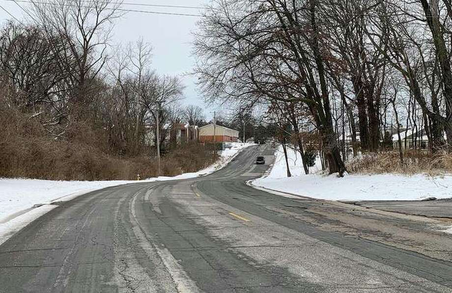 The section of University Drive looking west beyond Devon Ct. is scheduled to receive a facelift in about 18 months, if the city council approves. Photo: Matt Kamp | The Intelligencer