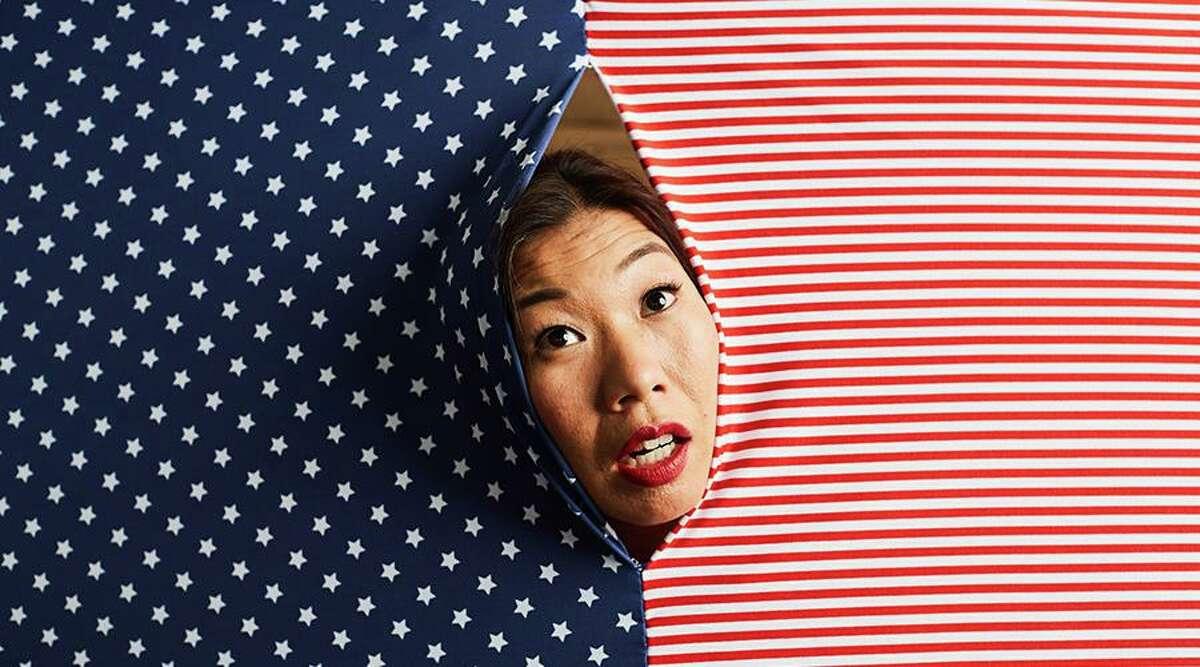 "Kristina Wong: ""Sweatshop Overlord"" will be presented online at 8 p.m. Feb. 18 at Wesleyan University, Middletown."