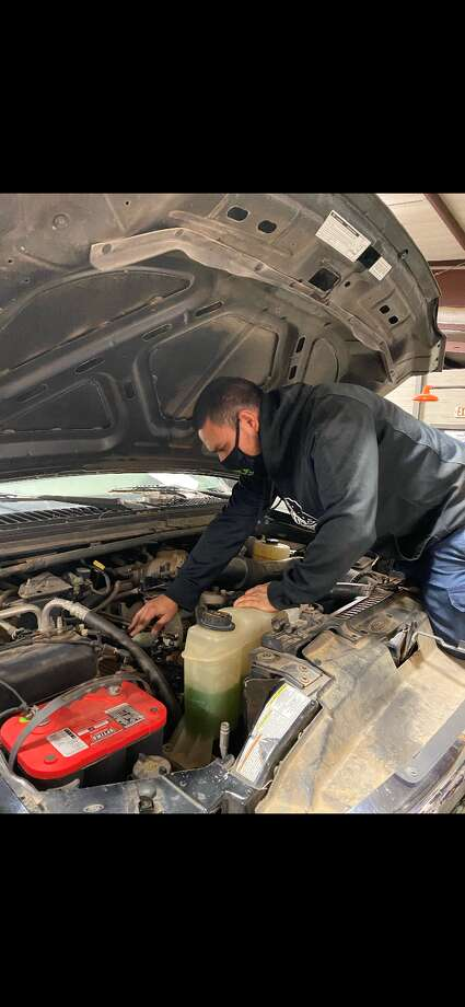 Jimmy Espinoza is just one of many MC students who are pursuing certificates and degrees in Applied Technology programs, ranging from Welding, Auto Technology, Energy Technology and various hands-on programs in the Information Technology field. Photo: Courtesy Photo