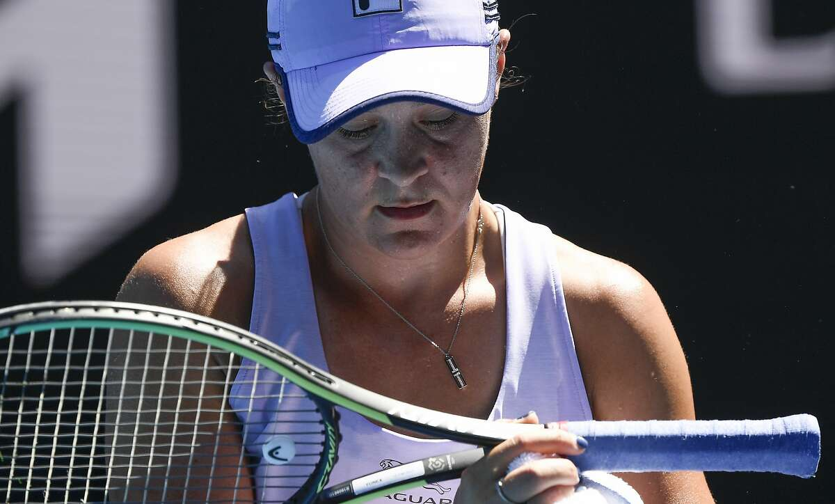 Ash Barty was hoping to become the first Australian woman to win the title in Melbourne since Chris O'Neil in 1978. Instead, she lost her quarterfinal match Wednesday to Karolina Muchova.