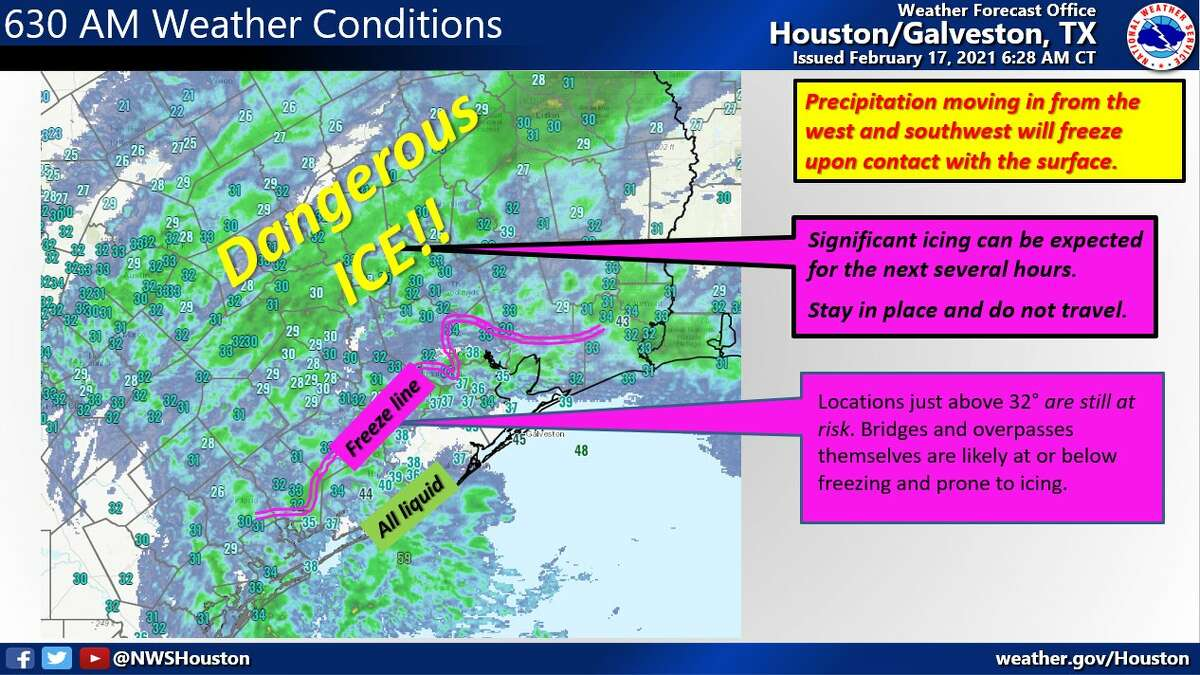NWS forecast update on Wednesday morning.