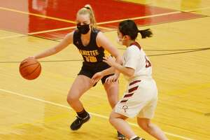 The Manistee girls basketball team captured its first win of the season Tuesday by cruising past Orchard View.   The Manistee girls basketball team captured its first win of the season Tuesday by cruising past Orchard View.
