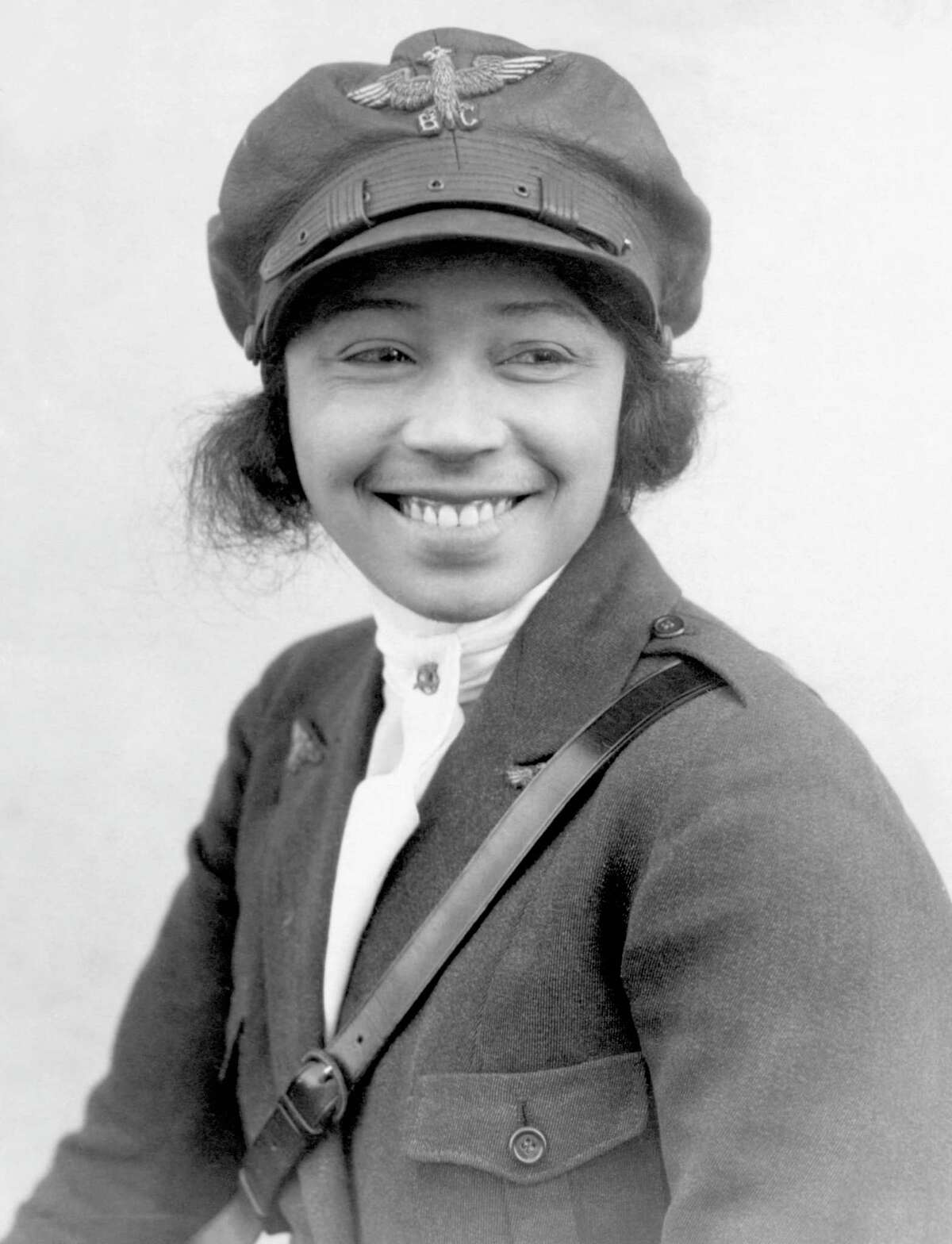 Bessie Coleman was the first black woman aviatrix.On June 15, 1921, she earned her international pilot's license from the French Fédération Aéronautique Internationale.She is pictured circa 1923. (George Rinhart/Corbis via Getty Images)