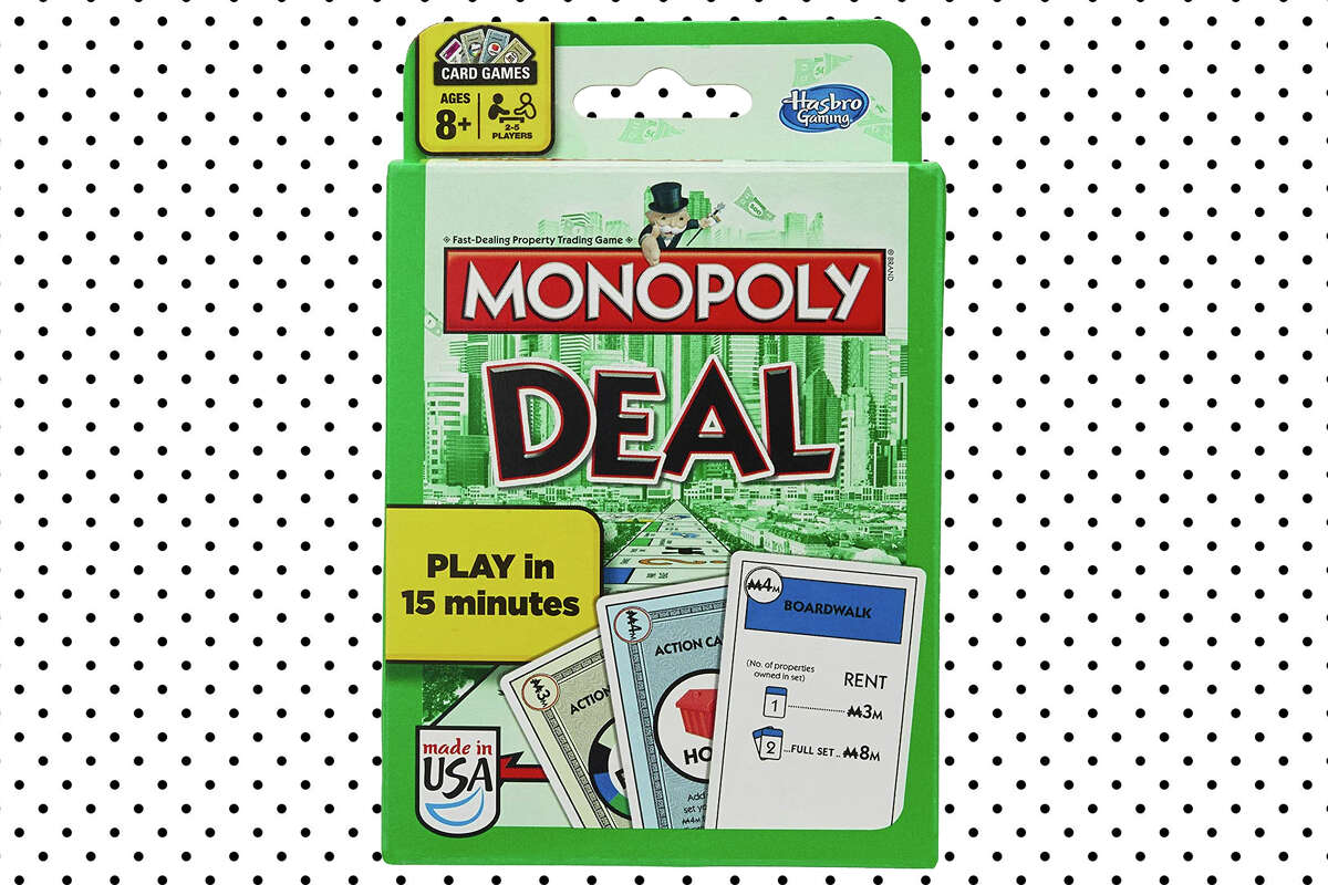 Monopoly Deal Card Game for $5.49 at Amazon.