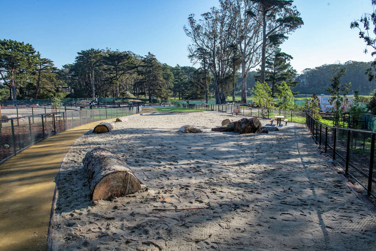 San Francisco's largest fenced dog park recently reopened following a $2.4 million renovation.