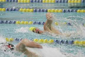 The Manistee boys swim team hit state cut times in three events on Tuesday in a double dual meet at Hamilton. (News Advocate file photo)
