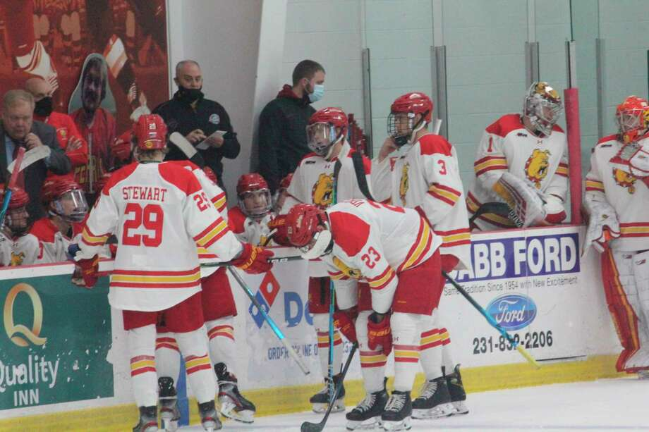 Ferris State will be battling the WCHA's first-place team, Minnesota State, this weekend in a pair of games which won't count in the league standings. (Pioneer file photo)