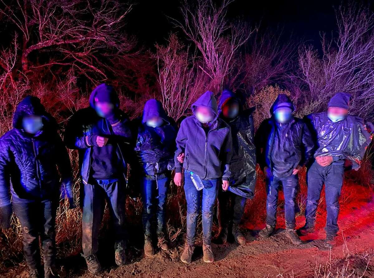 U.S. Border Patrol agents rescued multiple immigrants from the freezing temperature throughout the Laredo Sector.