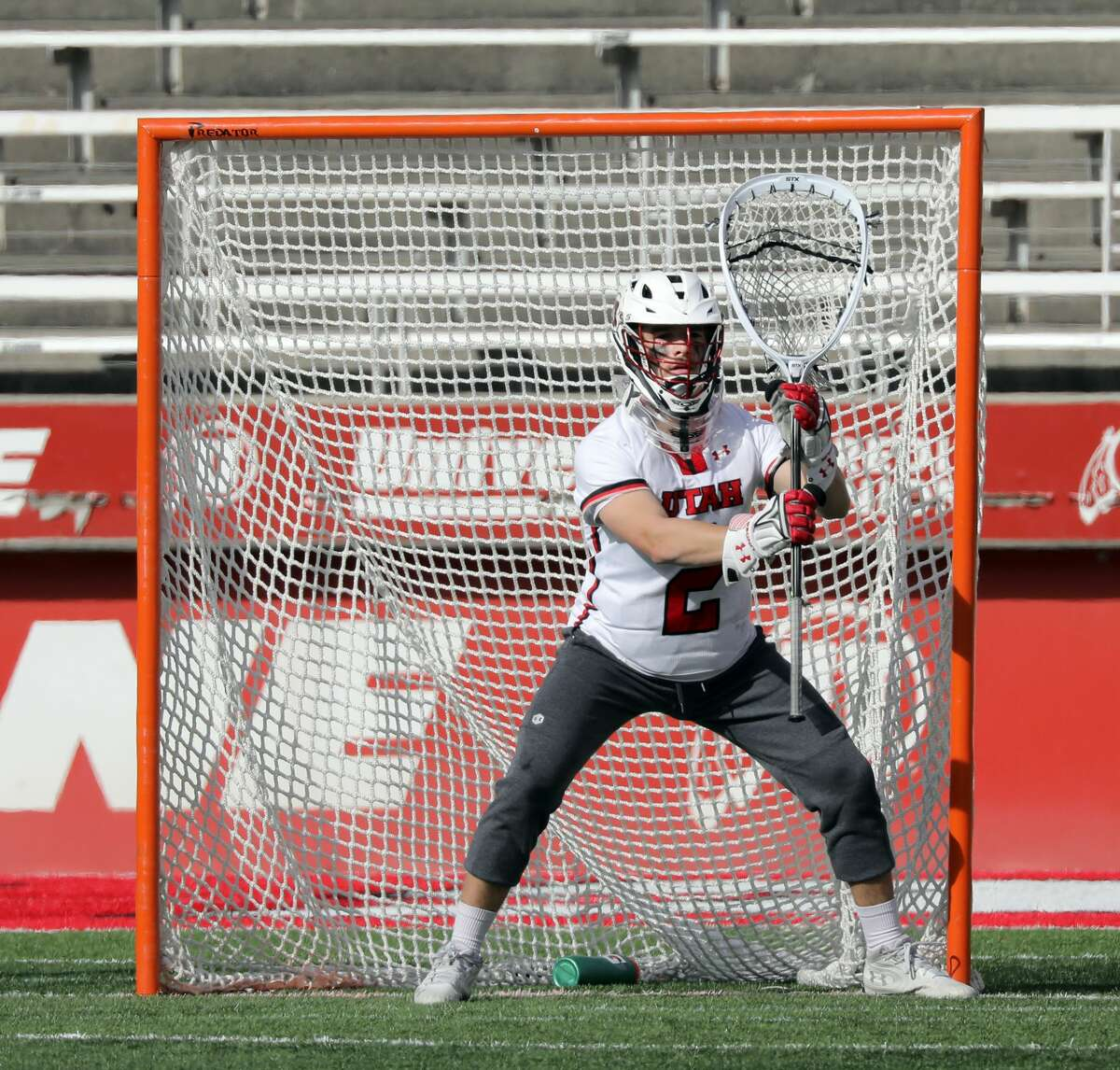Liam Donnelly started for the new Division I program at Utah before transferring to UAlbany for a graduate season.(Steve C. Wilson/University of Utah)