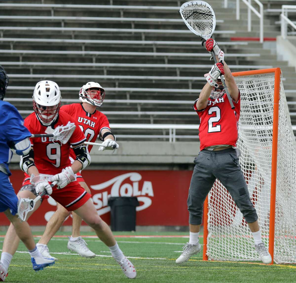 Though Utah struggled, it would have been a lot worse without goalkeeper Liam Donnelly, according to UAlbany head coach Scott Marr.(Steve C. Wilson/University of Utah)