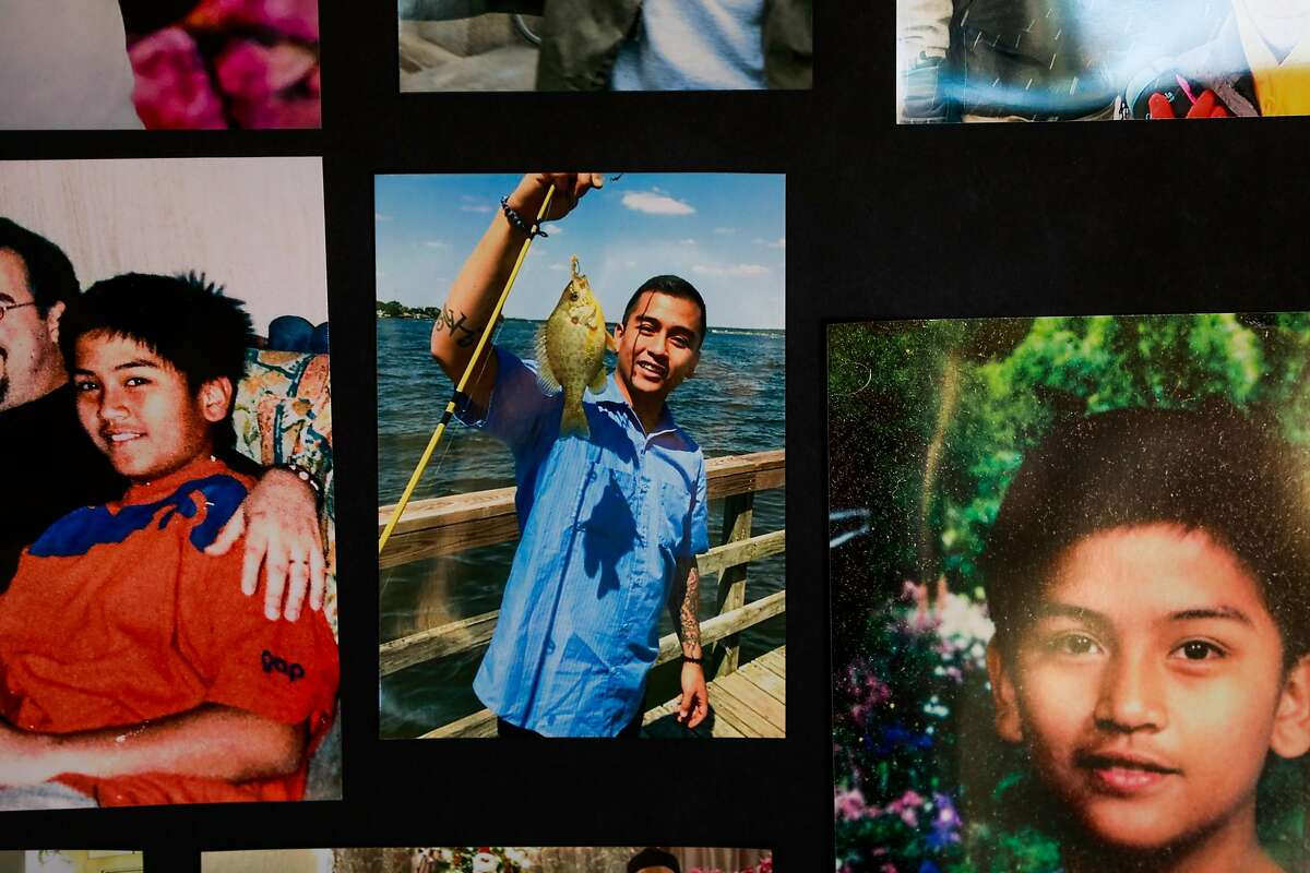 Photos of Angelo Quinto at his home in Antioch. The 30-year-old, who fell unconscious after being restrained by police, died in December.