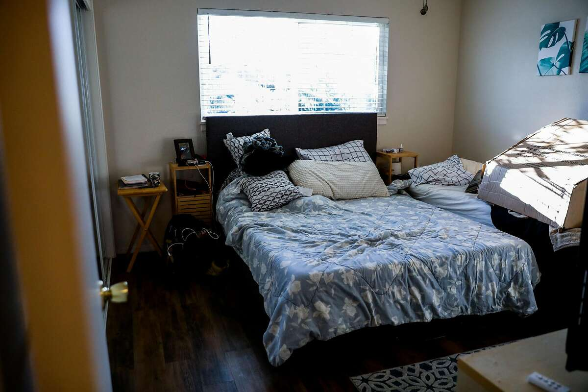Maria Cassandra Quinto-Collins' bedroom, where her son Angelo Quinto died in police custody in December in Antioch.
