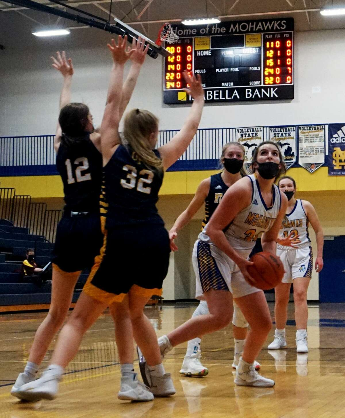 The Morley Stanwood girls' basketball team was defeated at home in non-conference action on Wednesday evening by the Mount Pleasant Oilers.