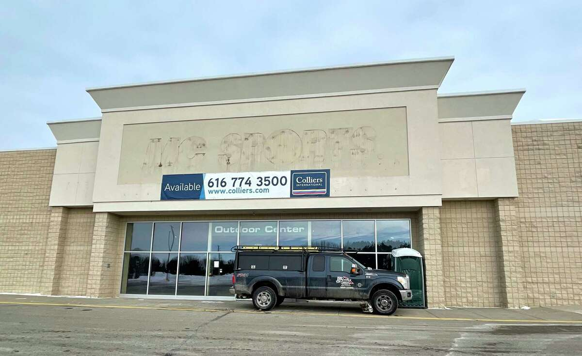 Marshall's plans to open a new store at 1250 Perry Ave. in Big Rapids in September. The 22,000-square-foot space was formerly occupied by MC Sporting Goods and has been vacant for the last four years. (Pioneer photo/Bradley Massman)