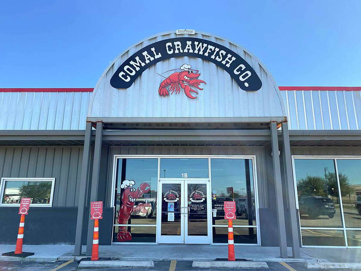 Comal Crawfish Co. in New Braunfels serves a wide range of seafood, including live crawfish in season.