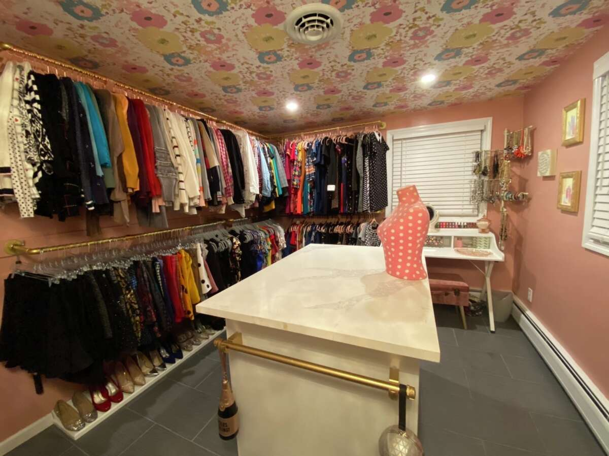 Brittany Blond of Clifton Park had a spare bedroom that she put to better use by turning it into a closet.