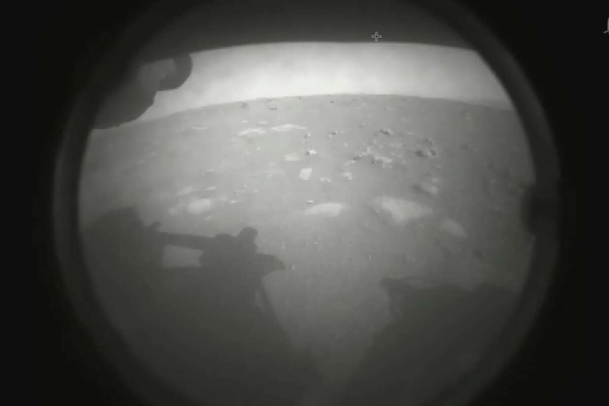 NASA Perserverance Rover landed safely on Mars shortly before 1 pm PST and shortly after beamed its first images from the red planet.