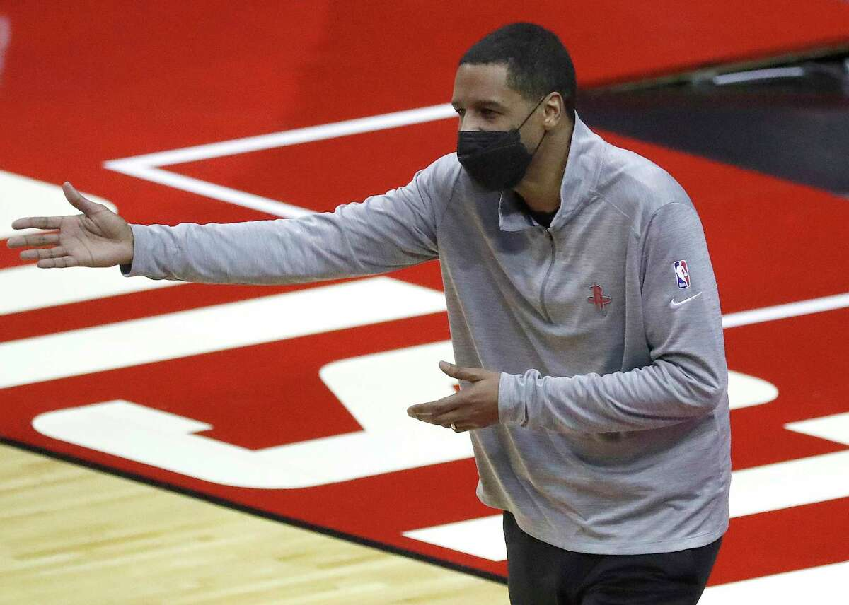 Coach Stephen Silas will have to wait until at least Saturday for the Rockets' next game. Because of power and water issues in Houston, Friday's home matchup against the Mavericks was postponed.