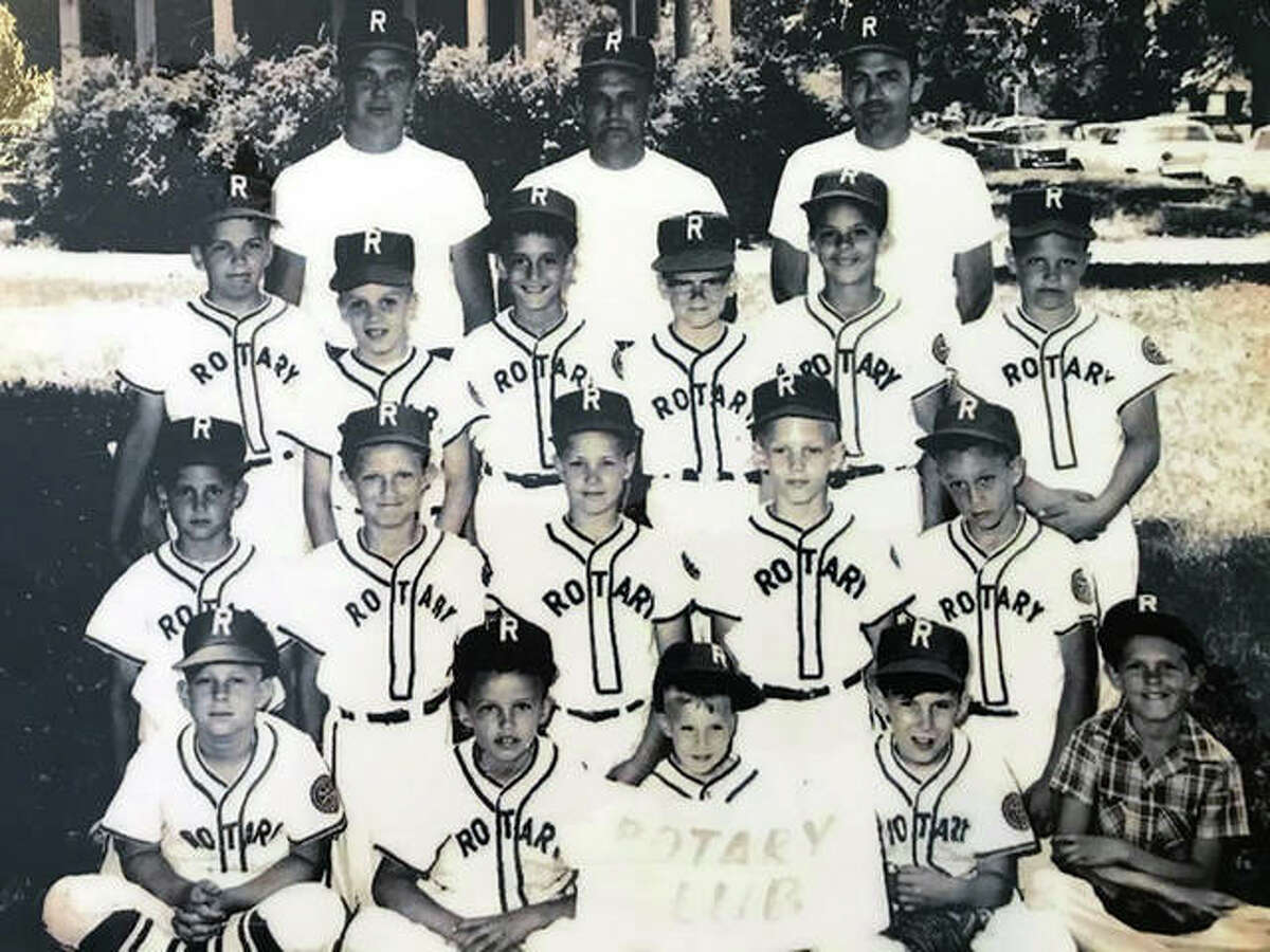 Vince Allaria is in the back row, third from left, in a team photo from 1966 in his second season as a player in the Edwardsville/Glen Carbon Little Association. As an adult, Allaria has been involved with the league for 35 years, including a 25-year stint as commissioner.
