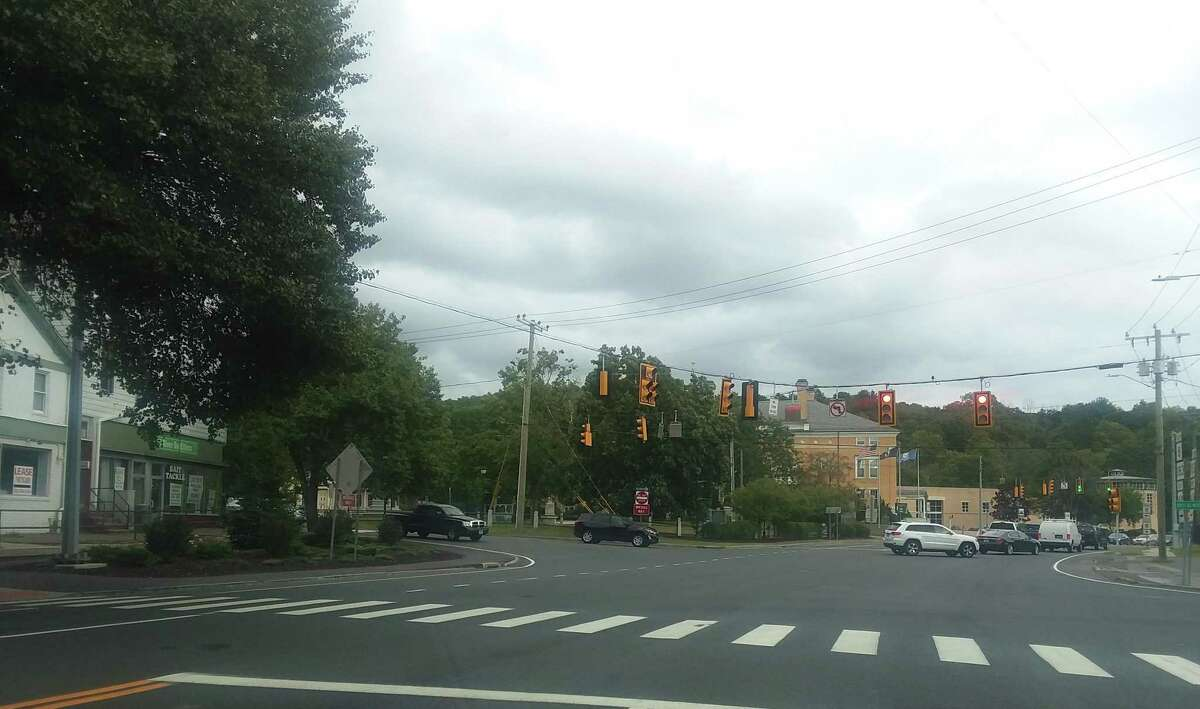 A view of Main Street in Winsted.