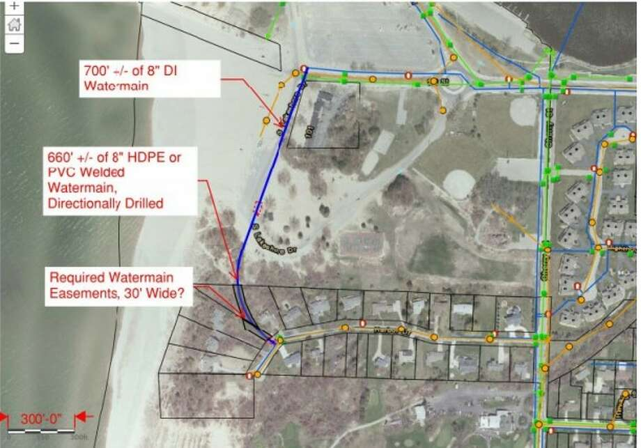 """Public Works Director Jeff Mikula has called plans for a potential water main loop a """"win-win situation"""" for the city and the developers of the Hampton Inn project. Photo: Courtesy Photo"""