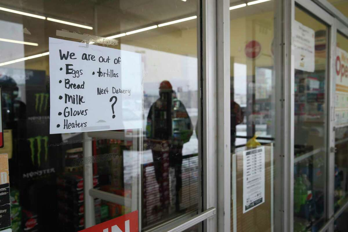 San Antonio shoppers find empty shelves as grocers grapple with power  outages, icy roads