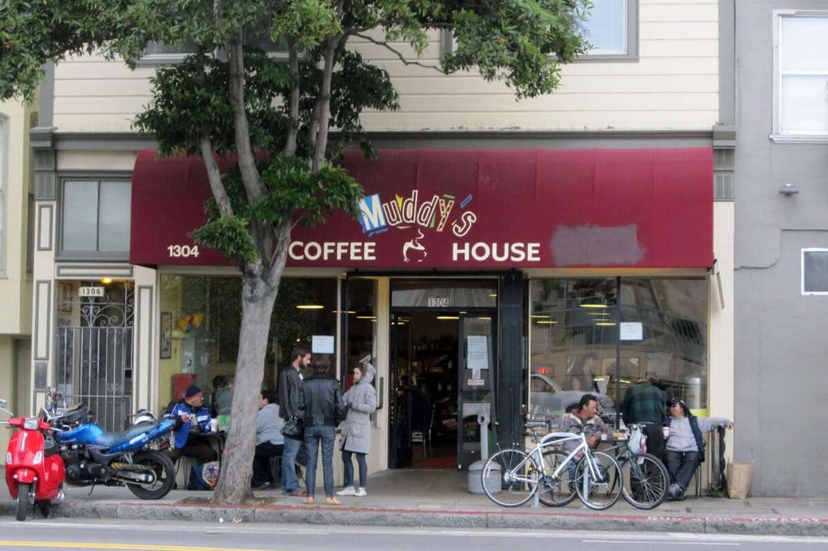 Muddy's Coffee House at 1304 Valencia St. in San Francisco is closing after 27 years.