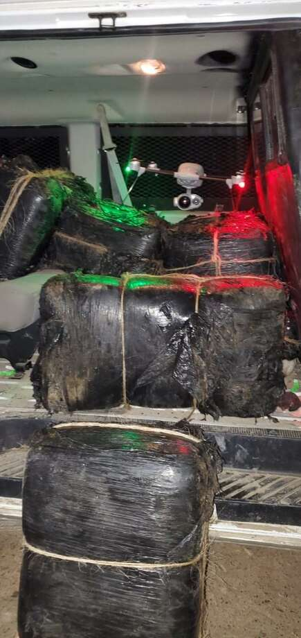U.S. Border Patrol agents seized about $750,000 worth of marijuana in two smuggling attempts reported on Wednesday in west Laredo. Photo: Courtesy Photo /U.S. Border Patrol