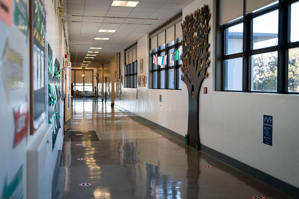 Sunset Elementary School in San Francisco remains closed.