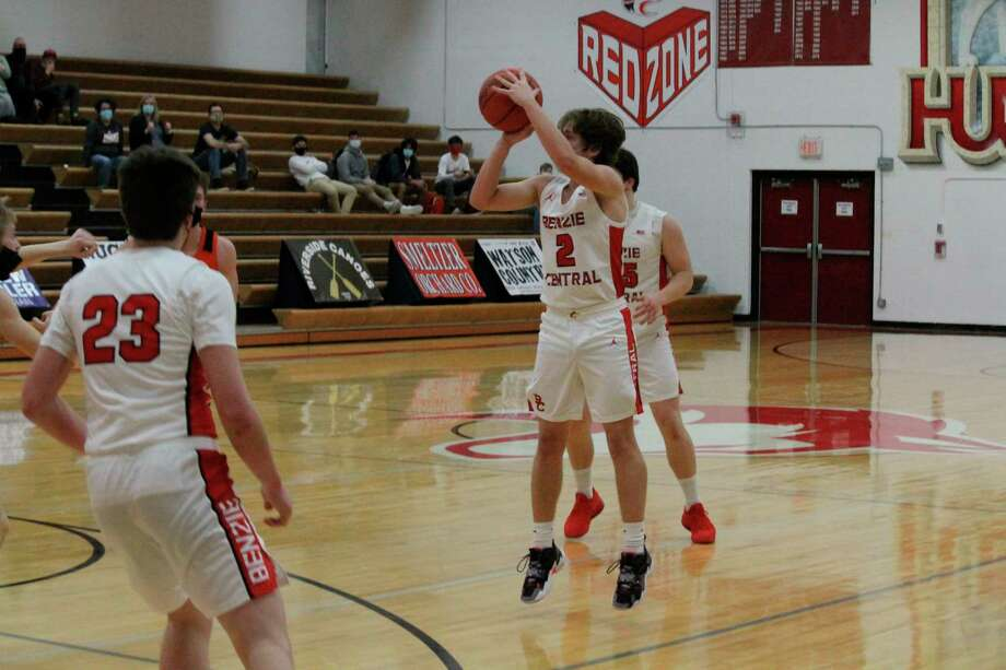 Benzie Central plays Kingsley on Feb. 11. (Record Patriot file photo)