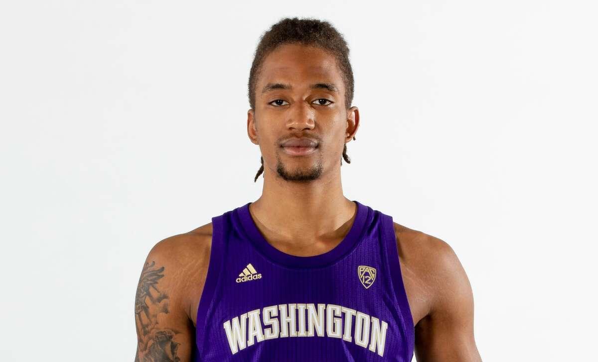 Albany Academy graduate Hameir Wright of the Washington men's basketball team. (Courtesy of Washington Athletics)