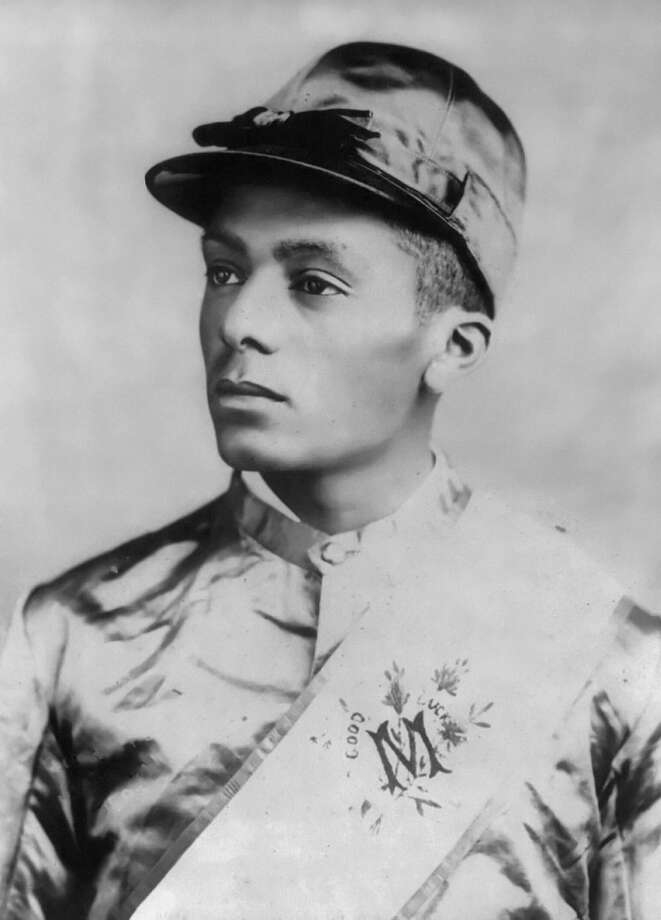 Isaac Burns Murphy was first jockey to win the Kentucky Derby three times - 1884, 1890 and 1891 - and the first to win back-to-back derbies. (Courtesy photo)