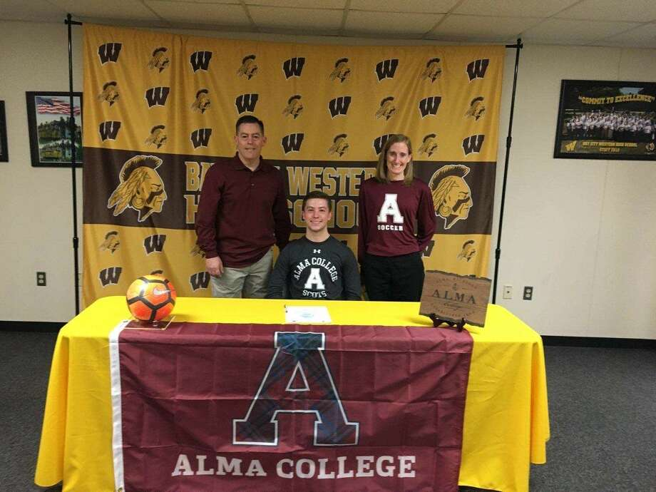 Matt Przepiora is pictured on signing day. Photo: Photo Provided