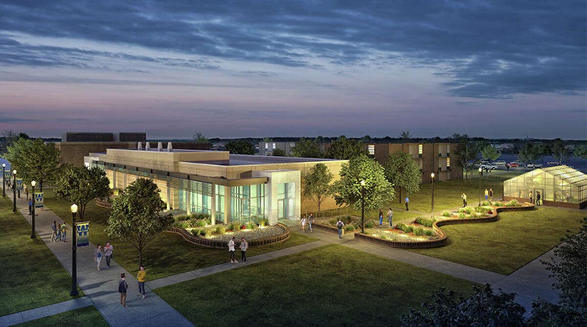 Moody Science building rendering