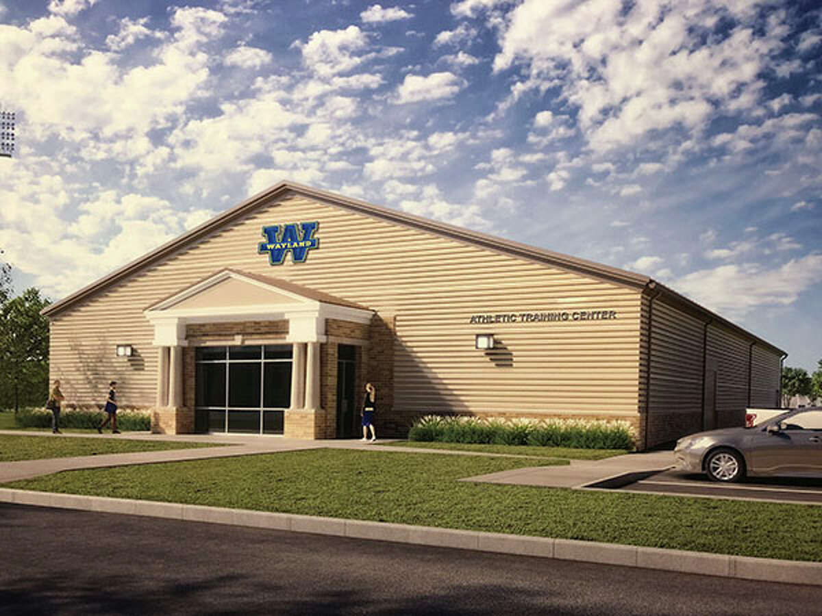 Athletic Training Facility rendering